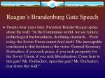reagan s brandenburg gate speech