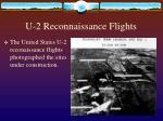u 2 reconnaissance flights