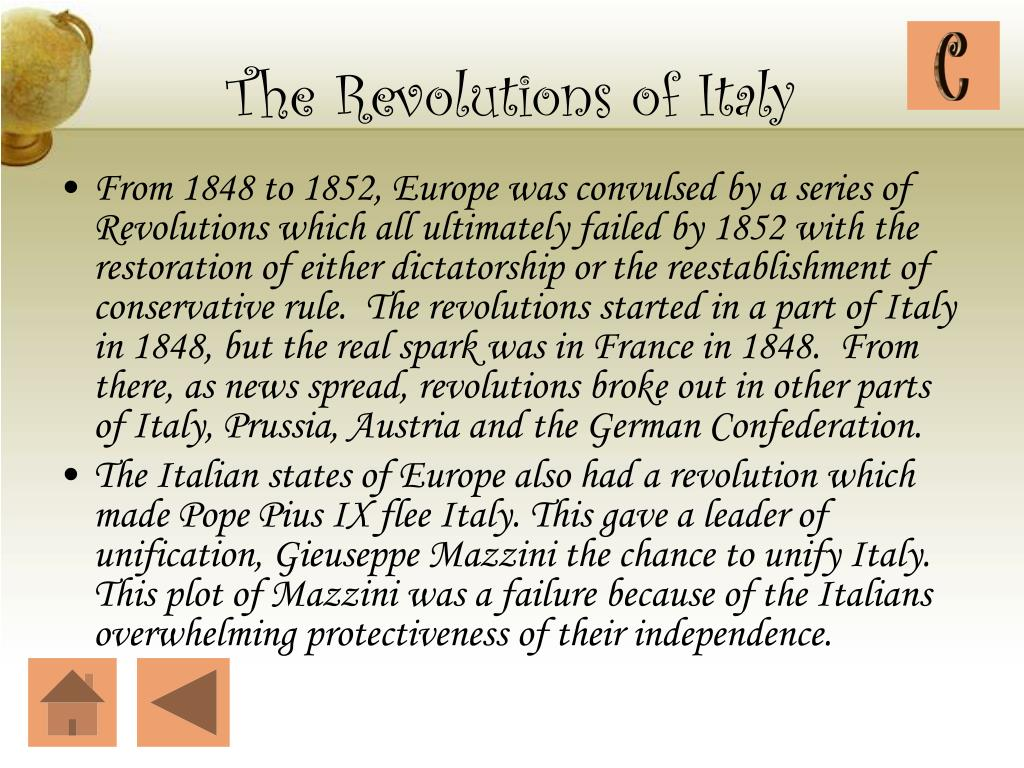 The Revolutions of Italy