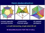 hemi dodecahedron