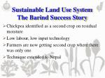 sustainable land use system the barind success story