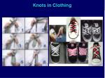 knots in clothing