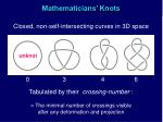 mathematicians knots