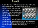 basal ii