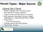 permit types major source2
