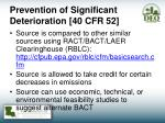 prevention of significant deterioration 40 cfr 521
