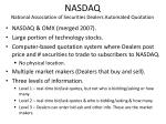 nasdaq national association of securities dealers automated quotation