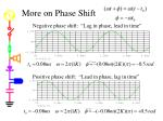 more on phase shift