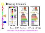 reading resistors