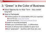 3 green is the color of business1