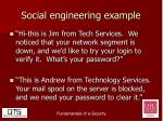 social engineering example1