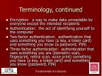 terminology continued3
