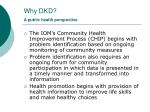 why dkd a public health perspective