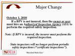 major change1