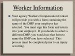 worker information1
