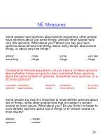 ne measures