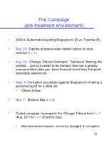 the campaign pre treatment environment