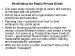 re thinking the public private divide