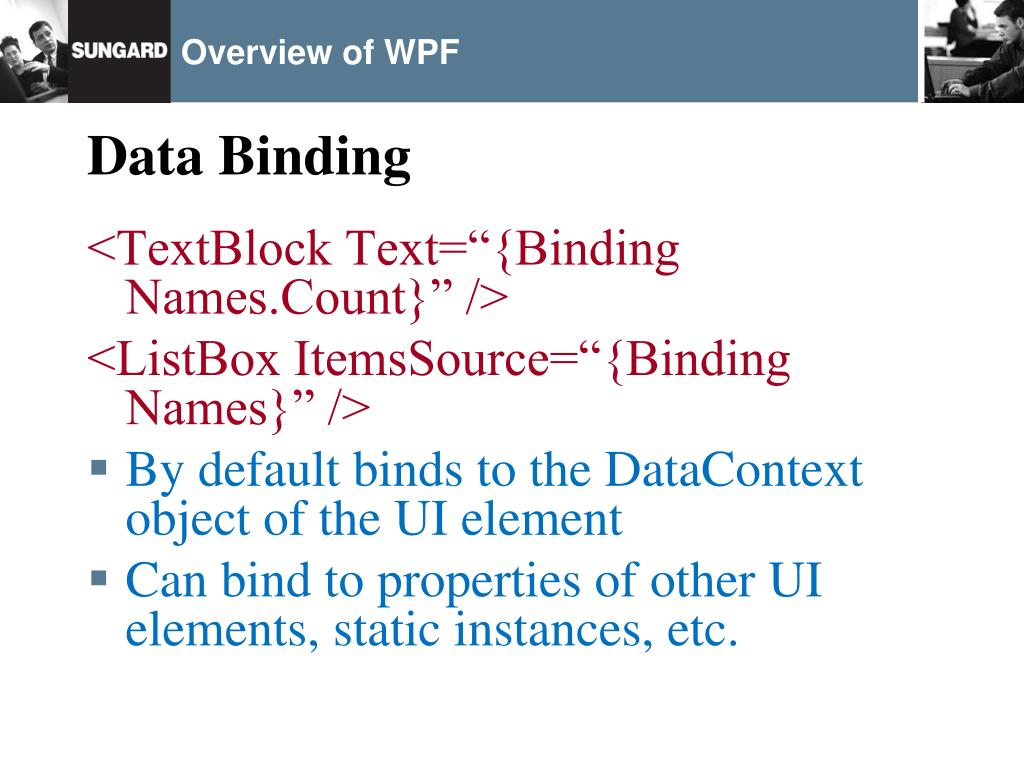 PPT - Overview of WPF PowerPoint Presentation - ID:1017067