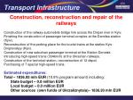 transport infrastructure1