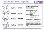 case studies zeolite fragments