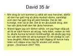 david 35 r