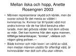 mellan ilska och hopp anette rosengren 2003