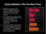 james baldwin the fire next time