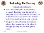technology for hearing23