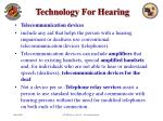 technology for hearing32