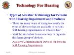 technology for hearing4