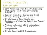 crafting the agenda 5 some examples