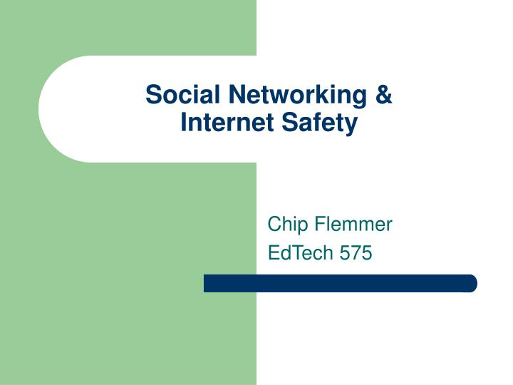 social networking internet safety n.