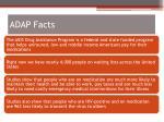 adap facts