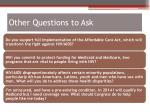 other questions to ask