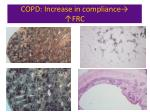 copd increase in compliance frc