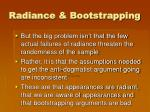 radiance bootstrapping