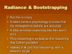 radiance bootstrapping3