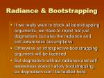 radiance bootstrapping4