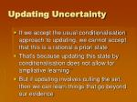 updating uncertainty4