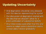 updating uncertainty5