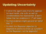 updating uncertainty6