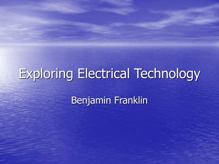exploring electrical technology n.