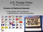 u s foreign policy the state level of analysis23