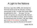 a light to the nations1