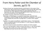 from harry potter and the chamber of secrets pp72 73