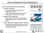 urban and regional carbon management