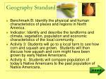 geography standard1