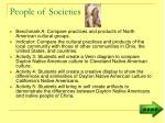 people of societies