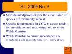 s i 2009 no 6